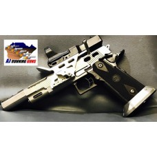 STI line of full custom pistol with slide lightening v6 port barrel
